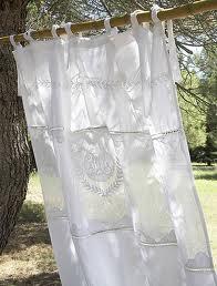 rideaux lin